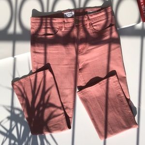 Frame Denim jeans, Peony Le Crop Mini Boot💕
